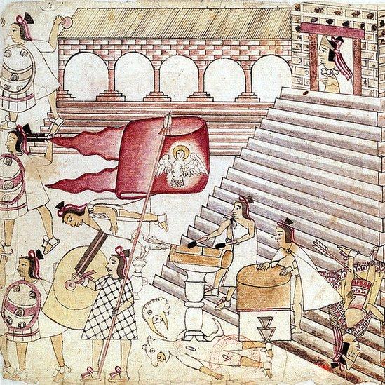 La defensa del Templo Mayor