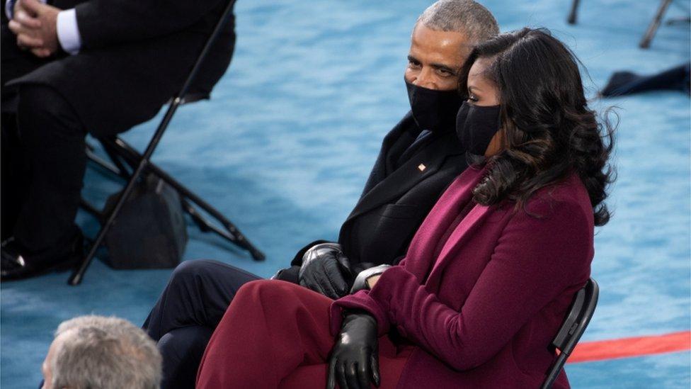 El matrimonio Obama