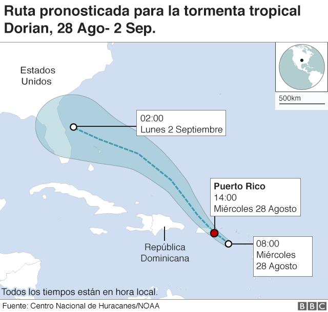 Mapa Puerto Rico