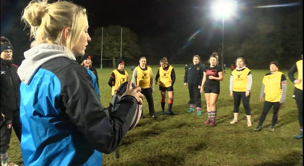 The 'Warrior Camps' inspiring women to try rugby