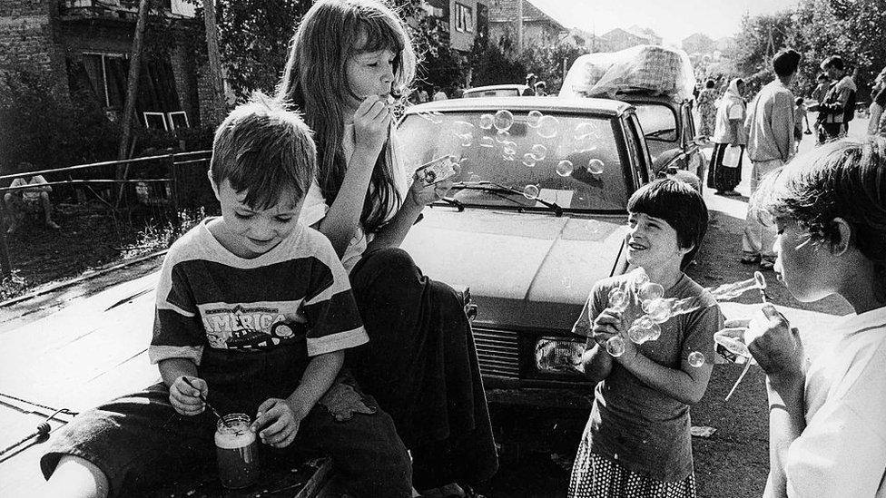 Musulьmanskie deti-bežencы, 1993 god