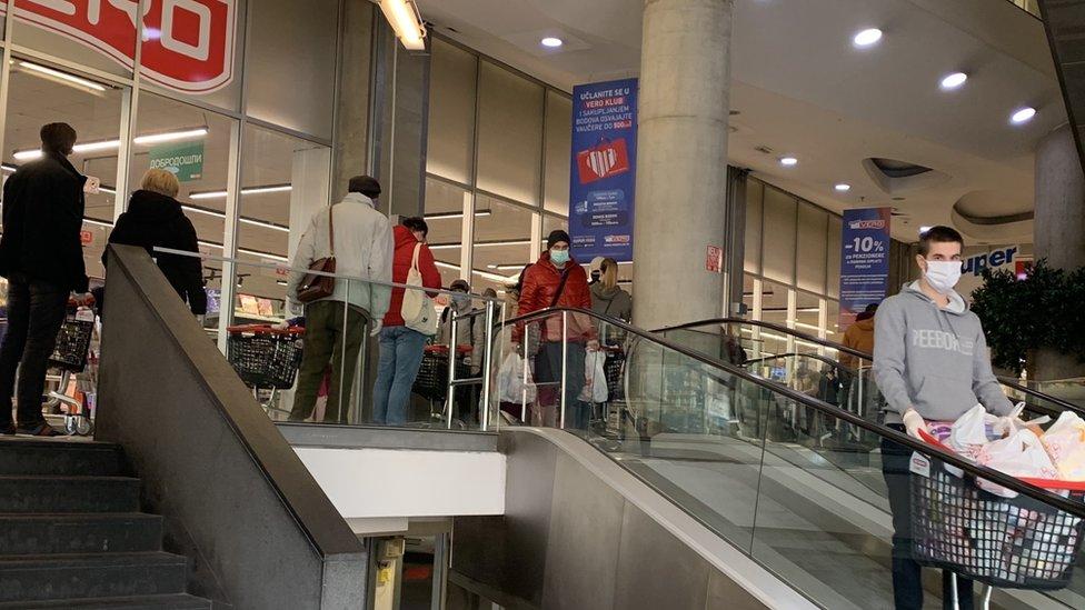 tržni centar prodavnica