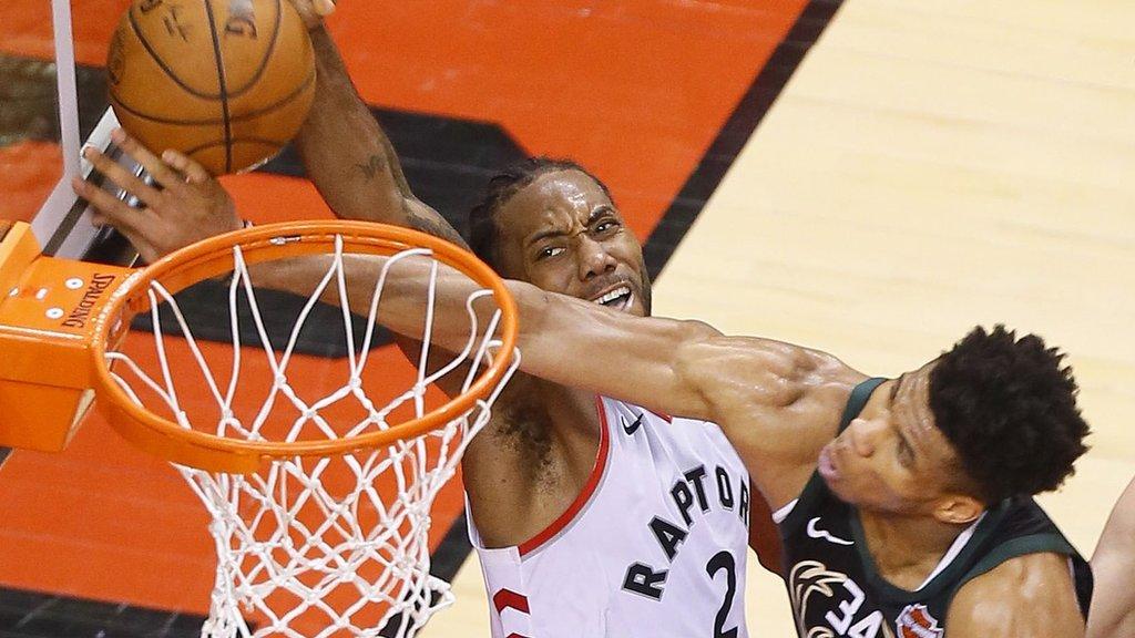 Toronto Raptors beat Milwaukee Bucks to seal NBA Finals place