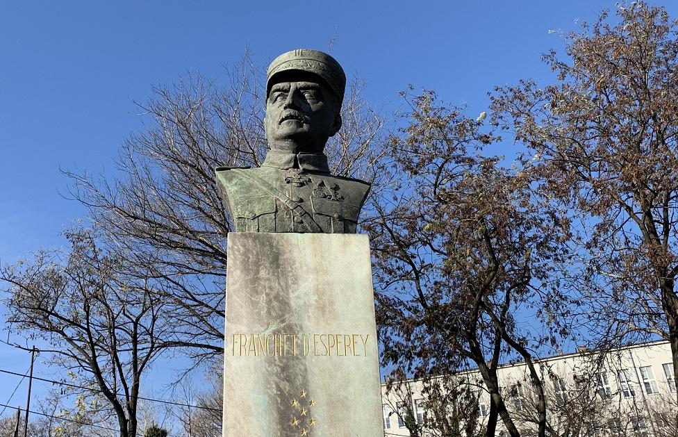 Spomenik Franše D`Epereu u Beogradu