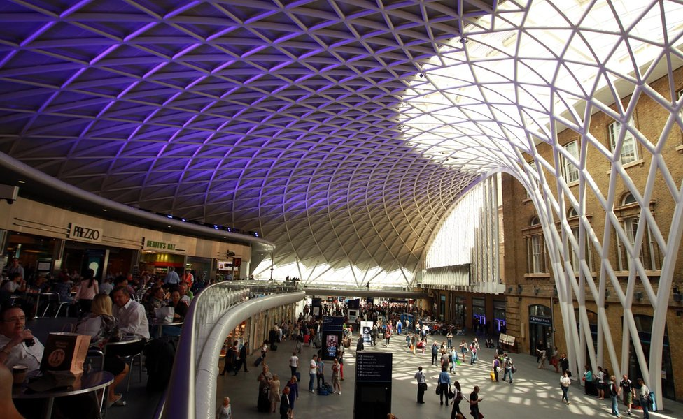 Roof at Kings Cross station