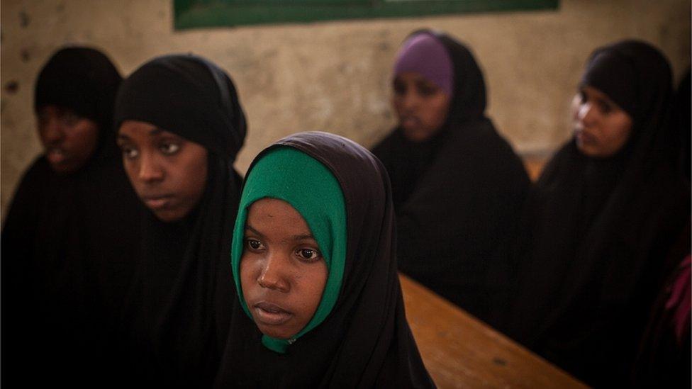 فتيات صوماليات