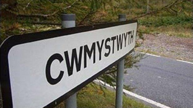 cwmystwyth