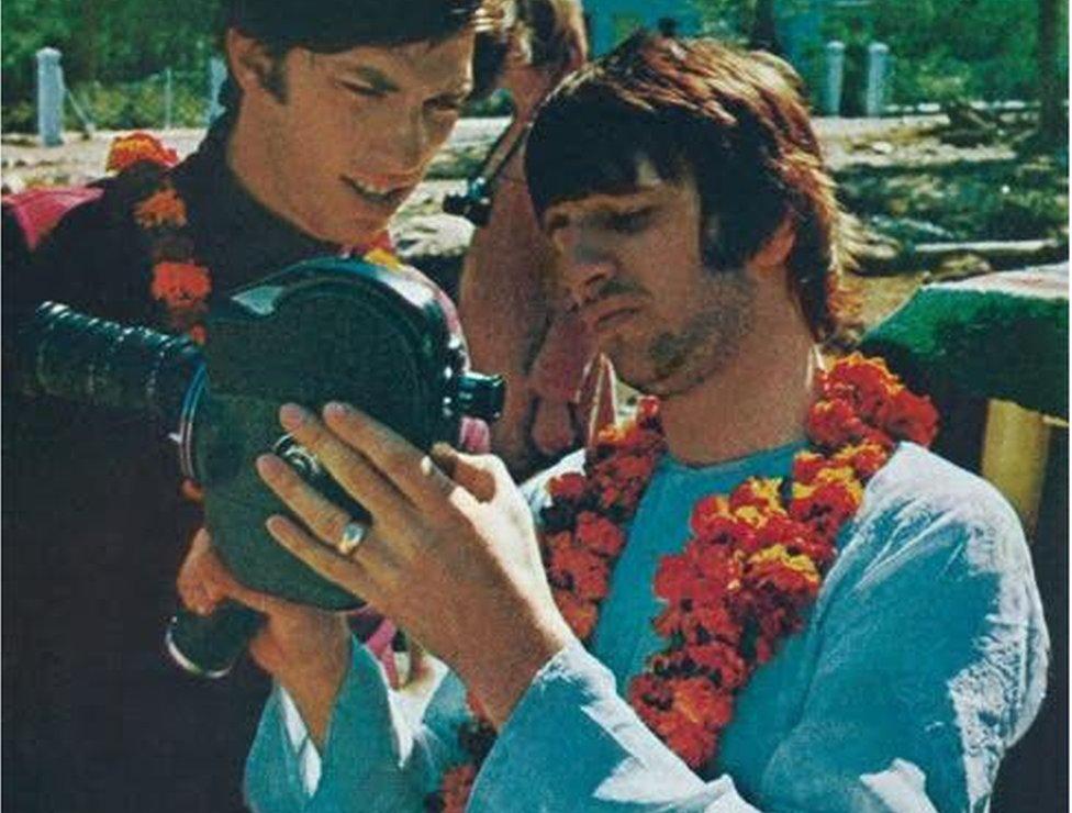 Ringo Starr gave Saltzman some movie film to shoot some footage