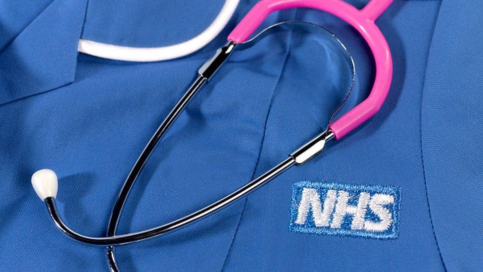 Bata del NHS