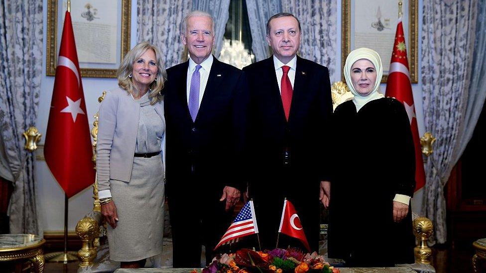 biden ve erdoğan ailesi