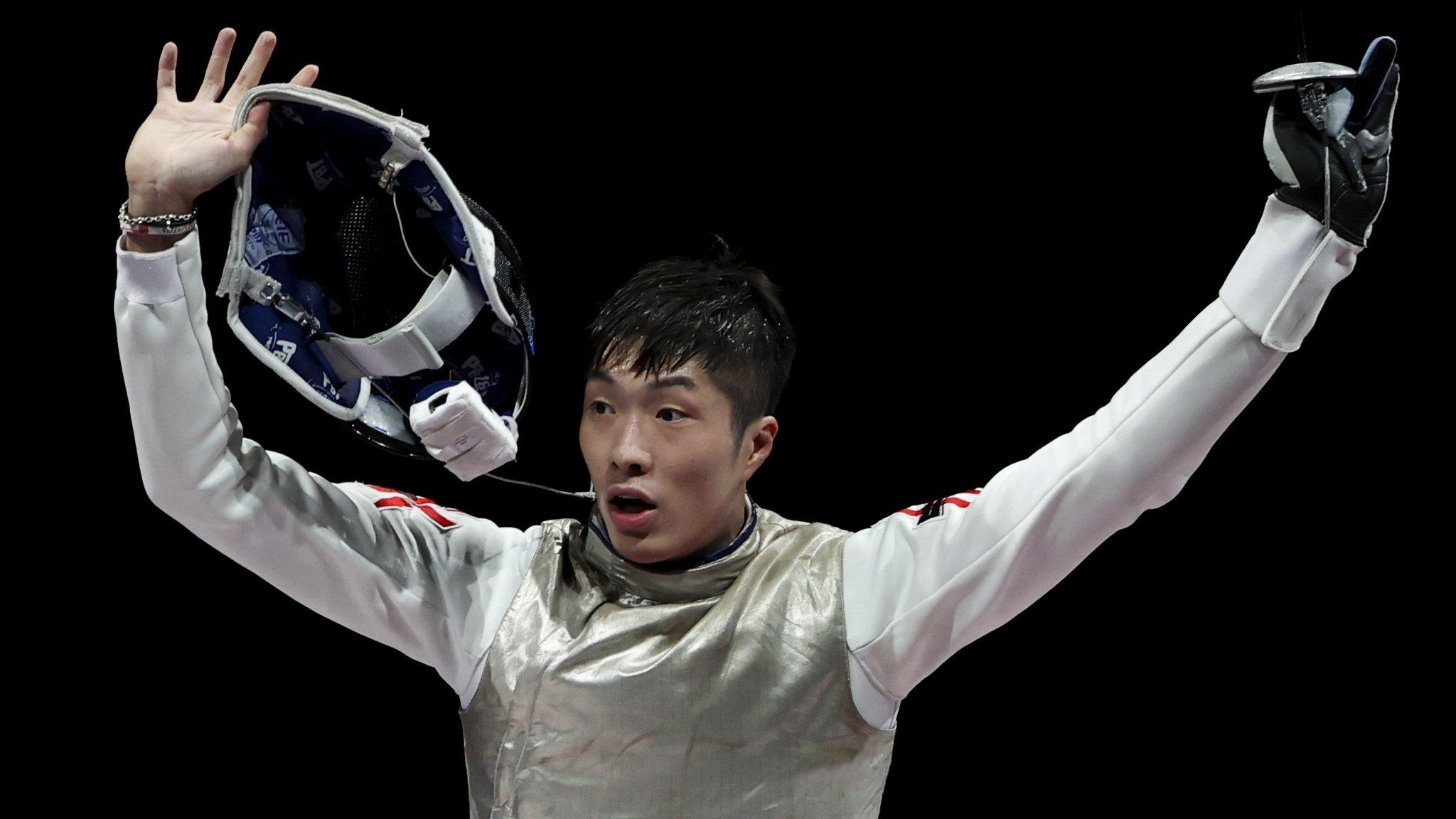 東京奧運:香港贏得久違金牌 張家朗獲得男子花劍冠軍