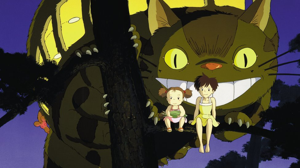 Image from the 1988 film My Neighbour Totoro