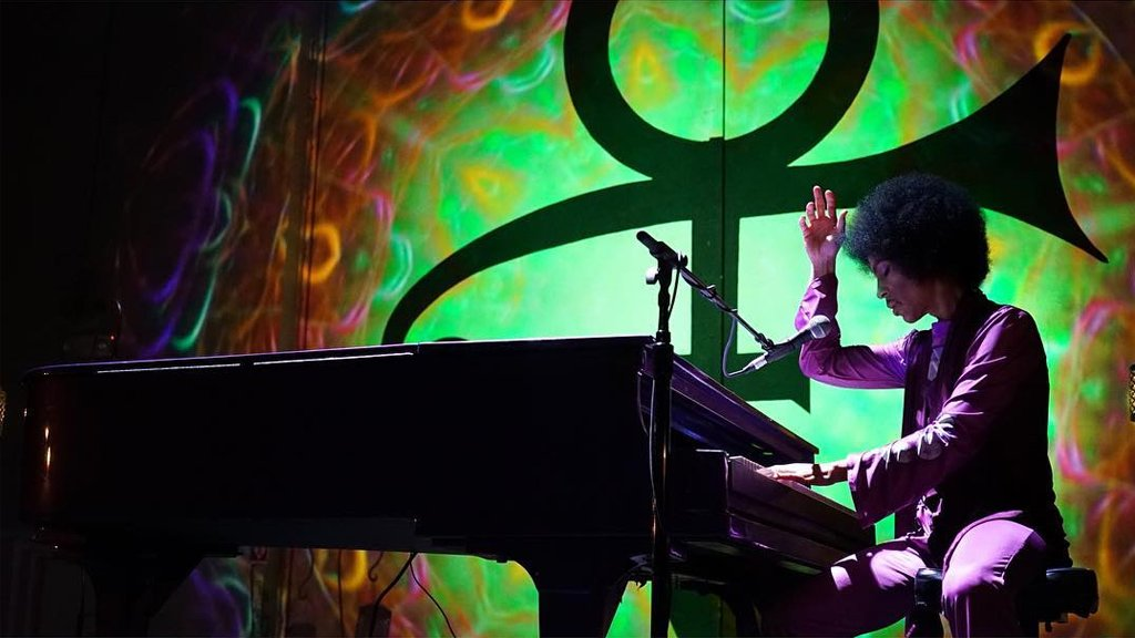 'It's Prince, thinking aloud on the piano'