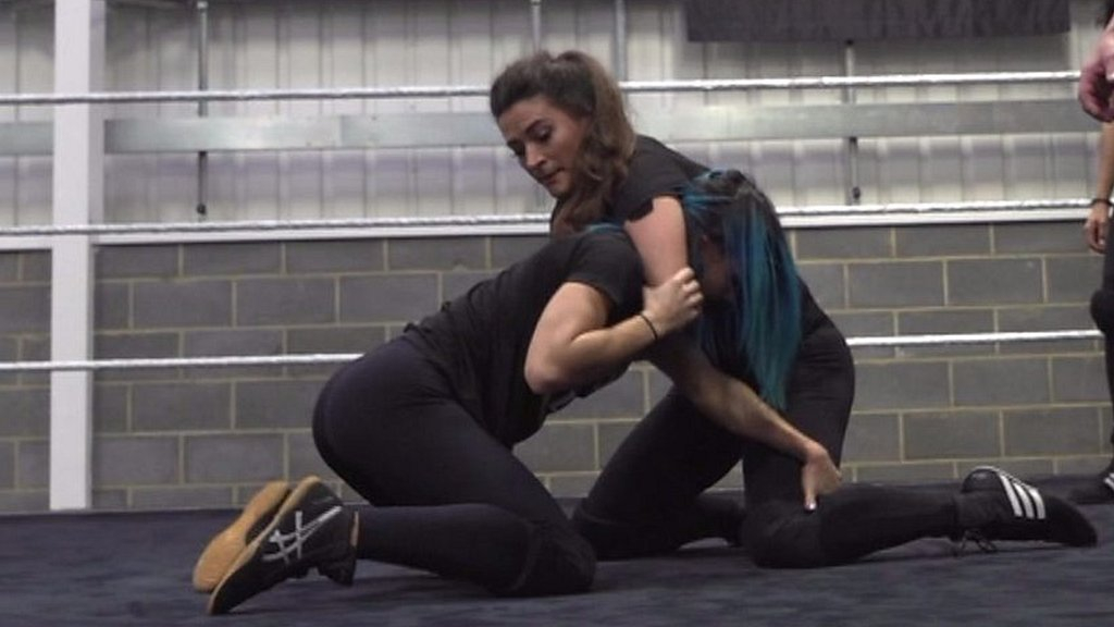 WWE training wrestling stars of the future in London