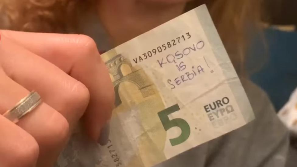 kosovo je srbija pet evra