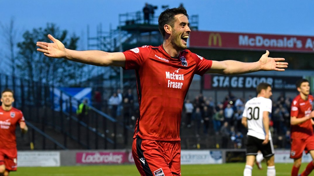 Ayr United 1-3 Ross County: League leaders all but seal Championship title
