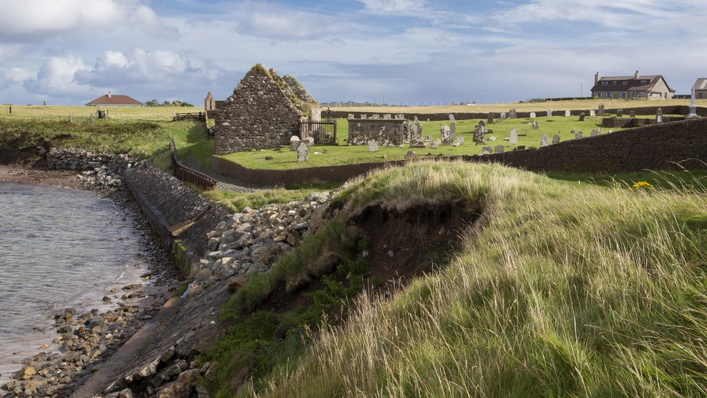 Warning of erosion to medieval Ui Church in Lewis