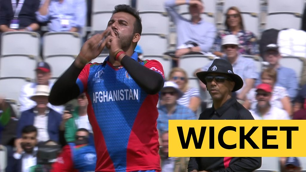 Cricket World Cup: Vince caught by Mujeeb Ur Rahman off Dawlat Zadran
