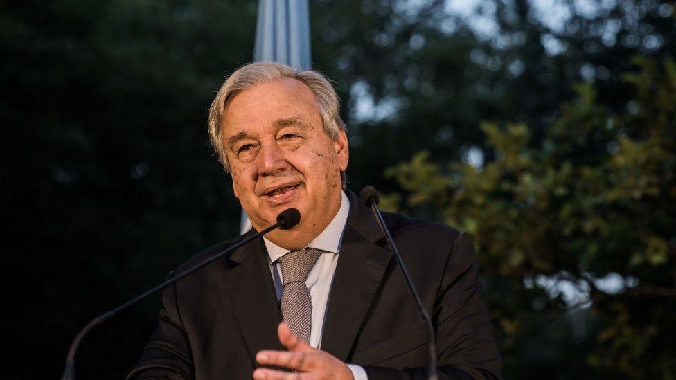 Secretary General Antonio Gutteres