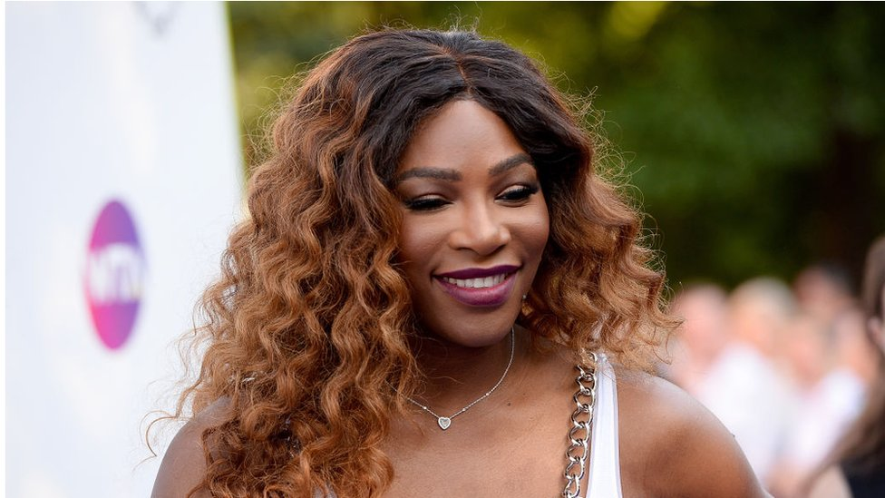 Serena Williams attends a party in London in June 2018