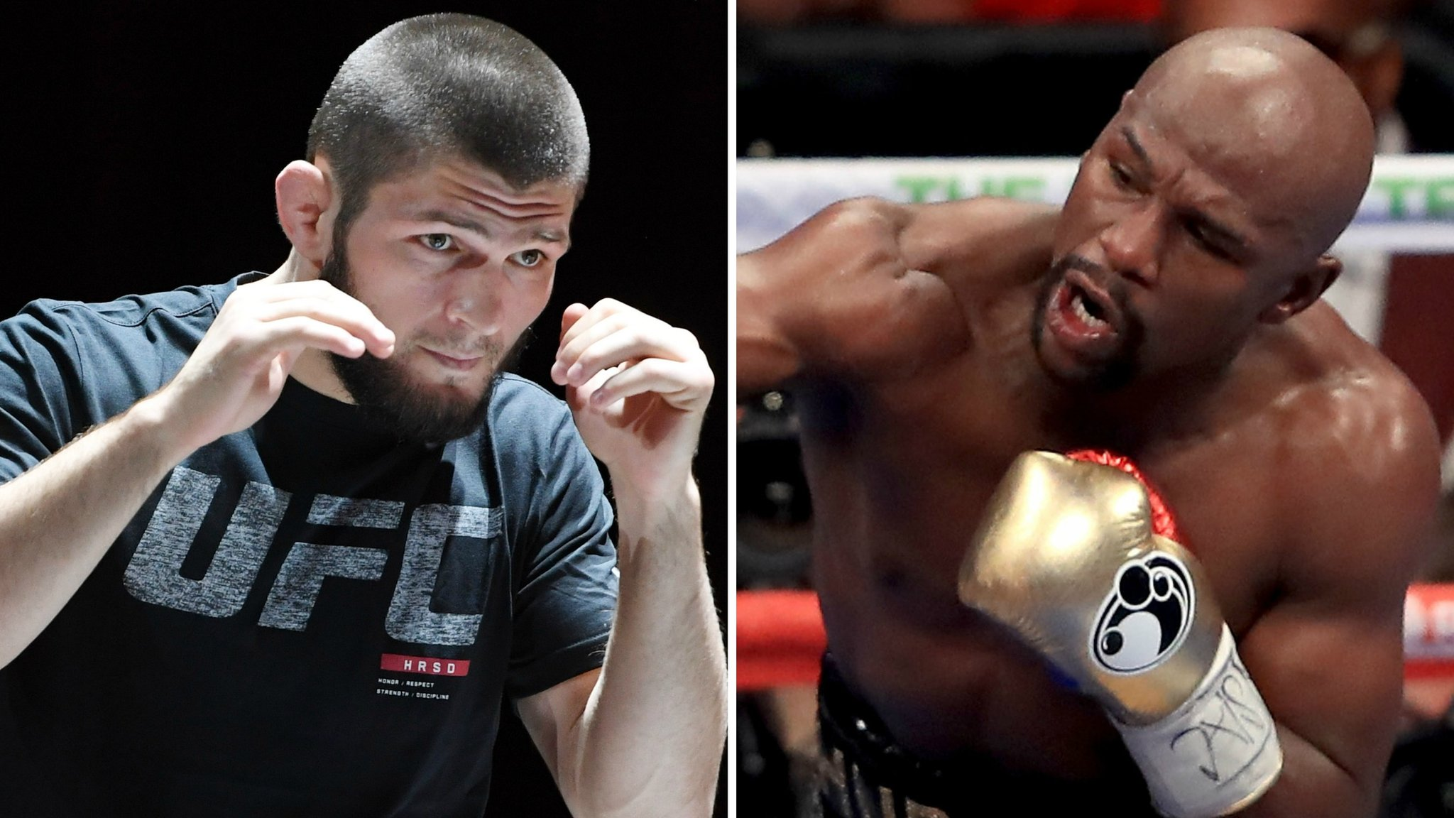 Get the chequebook out! - Mayweather responds to Nurmagomedov call