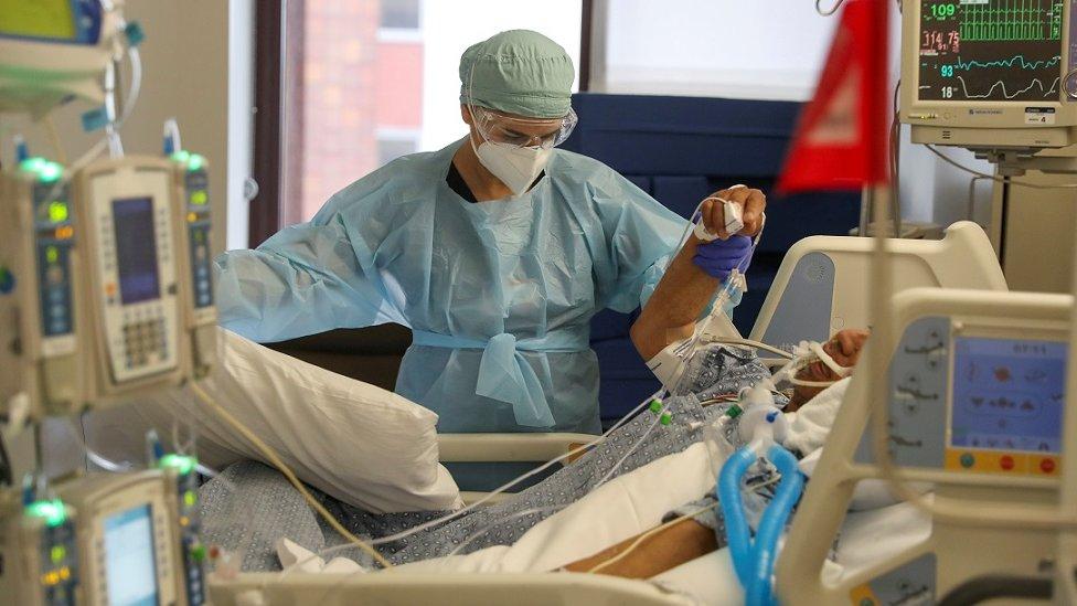 Paciente em UTI