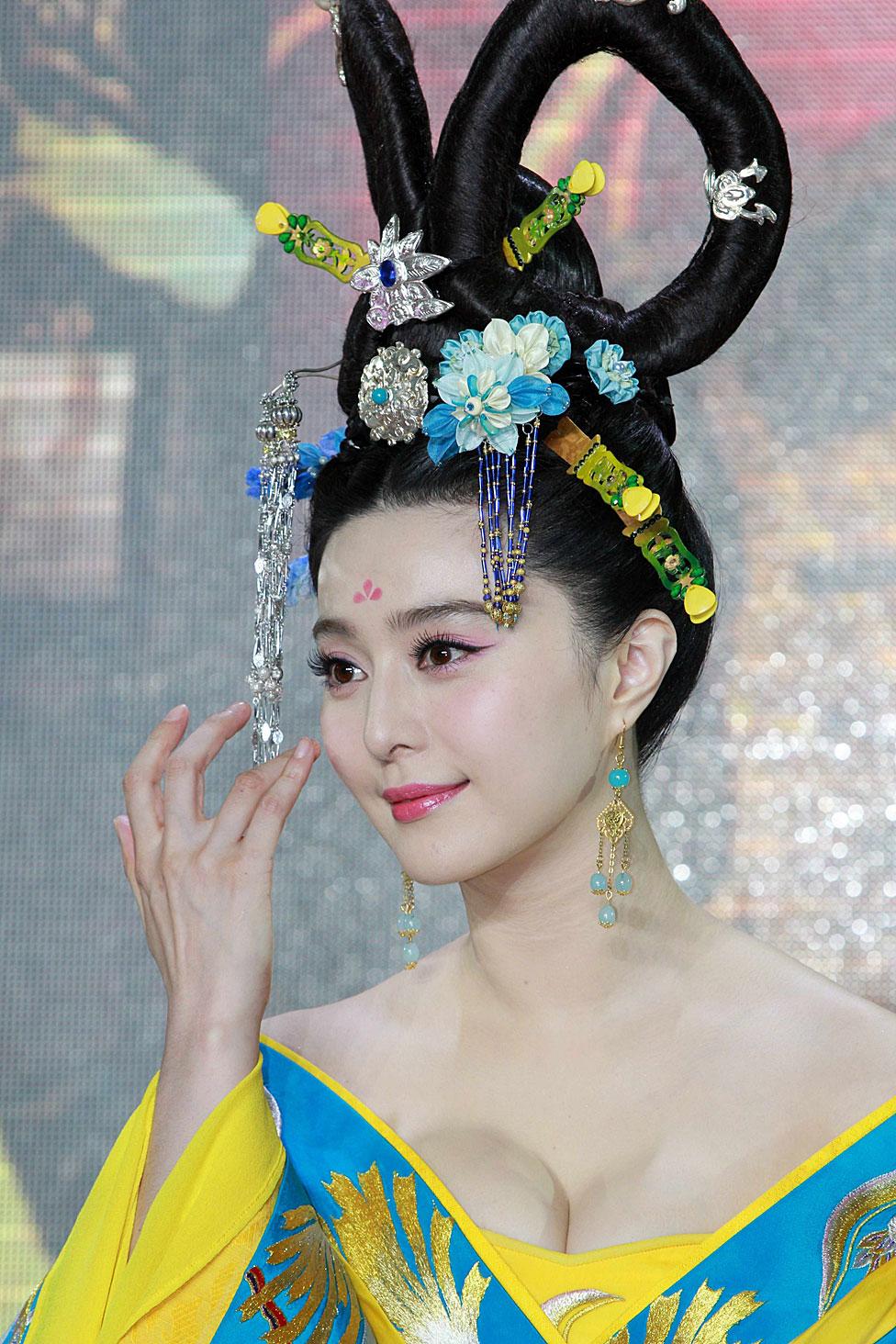 Fan Bingbing como Wu Zetian