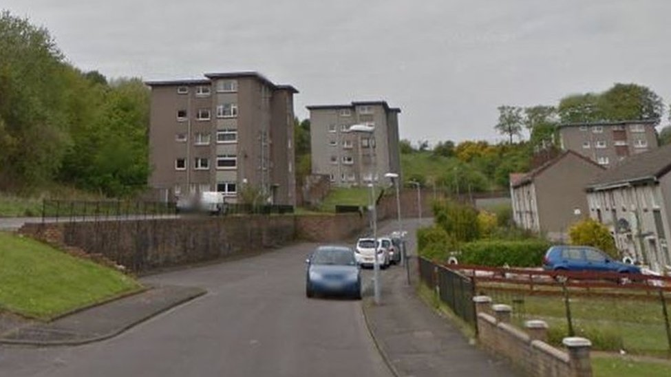 Residents evacuated after deliberate fire in Rutherglen