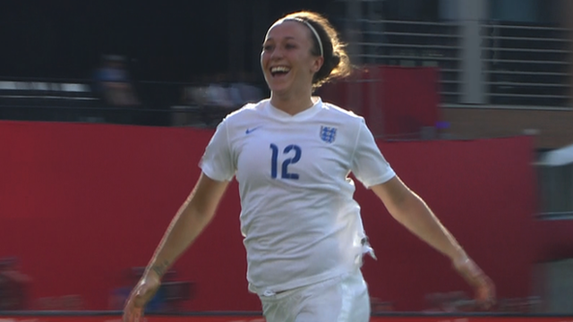 Stunning Lucy Bronze goal gives England lead against Norway
