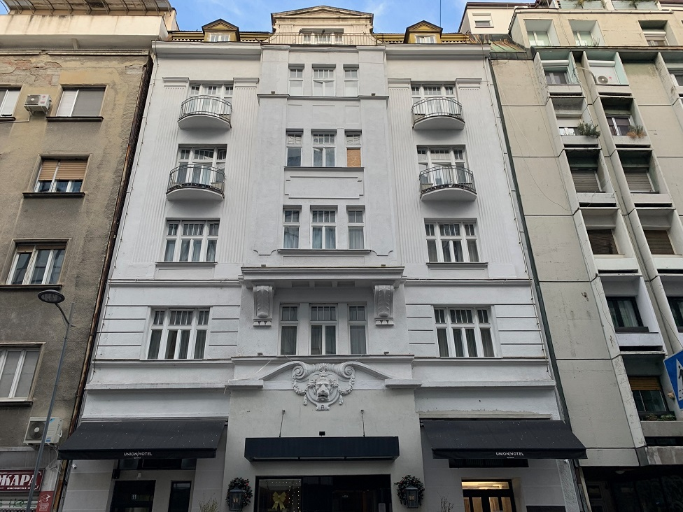 Hotel Union otvoren je prvi put pre gotovo 100 godina i danas ima tu namenu