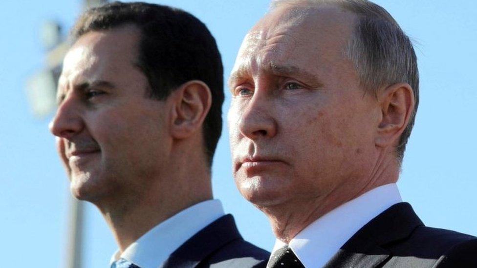Assad y Putin.