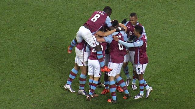 Aston Villa 1 (Clark 75') Wycombe 0
