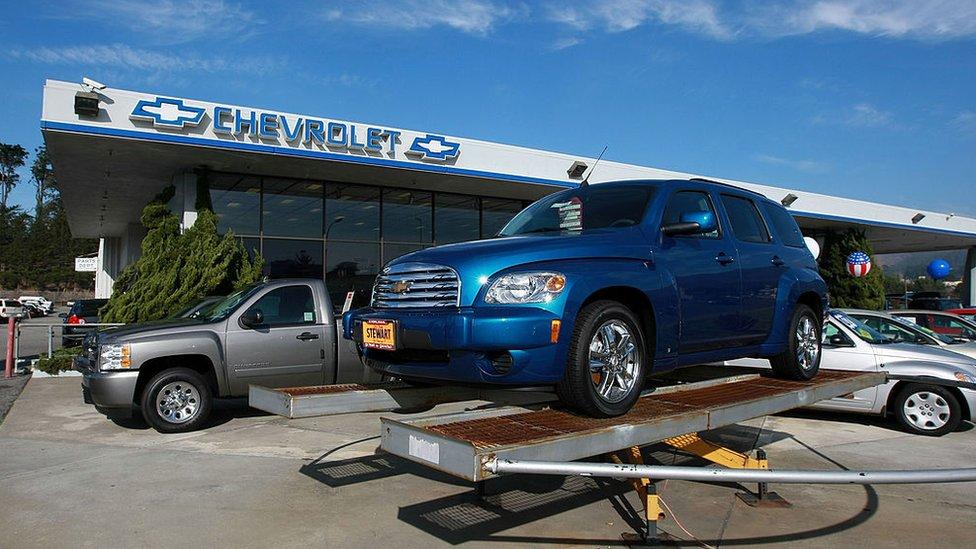 General Motors en California.