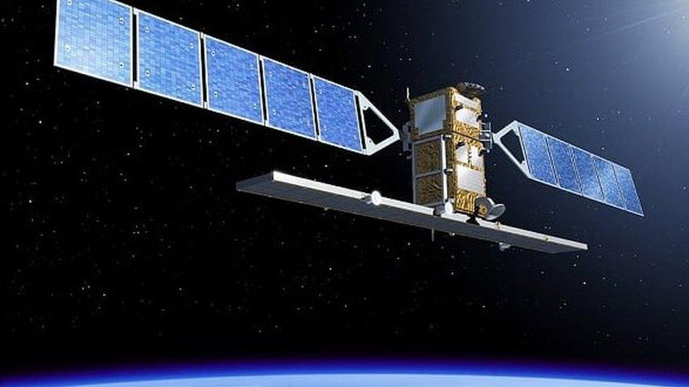 European Space Agency's Sentinel-1 satellite