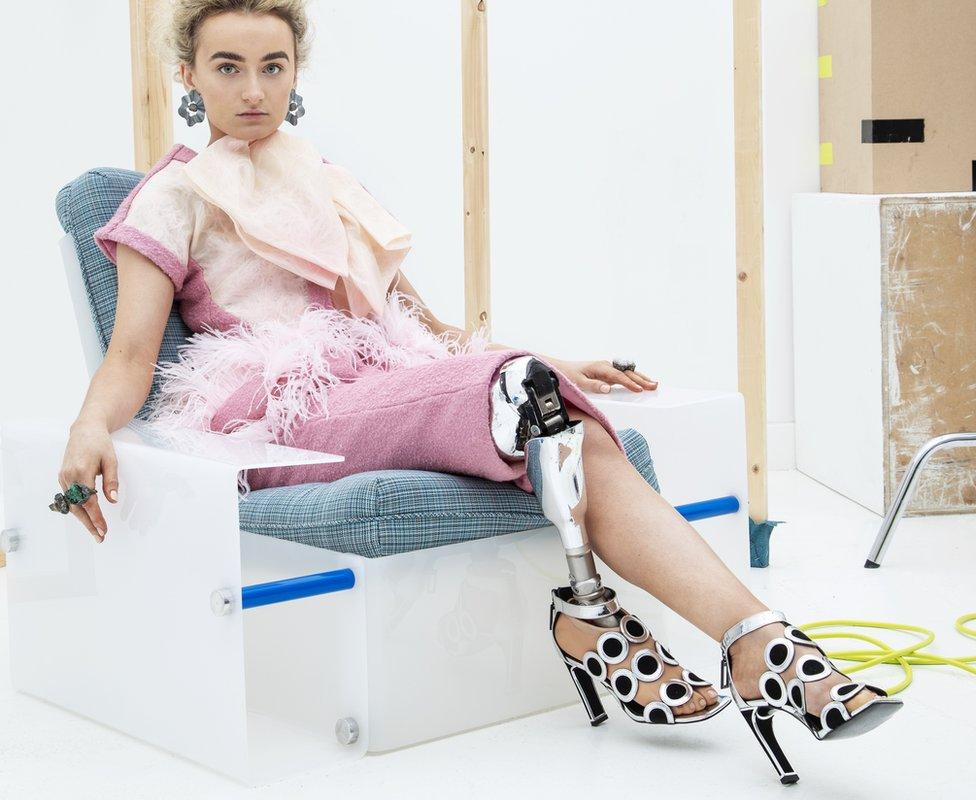 Zebedee model Bernadette