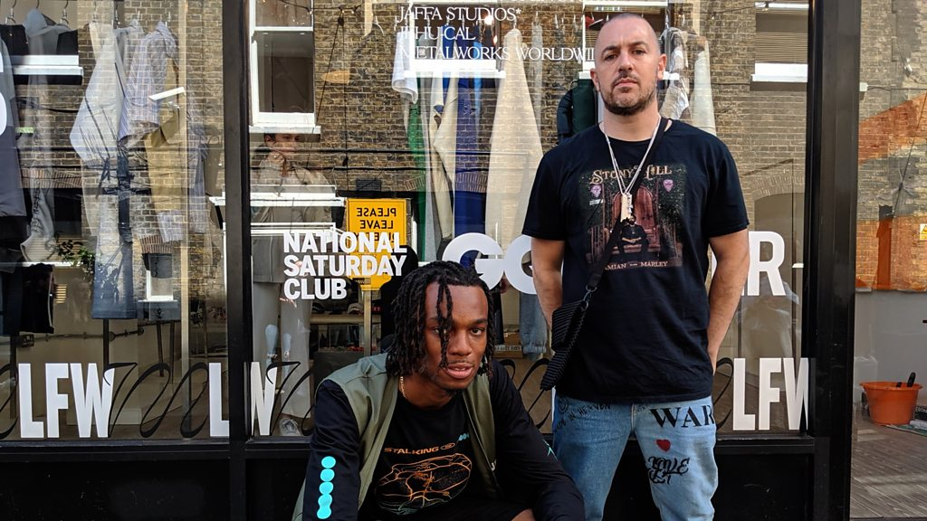London Fashion Week Men's: Ex-youth worker gives fashion designers a chance