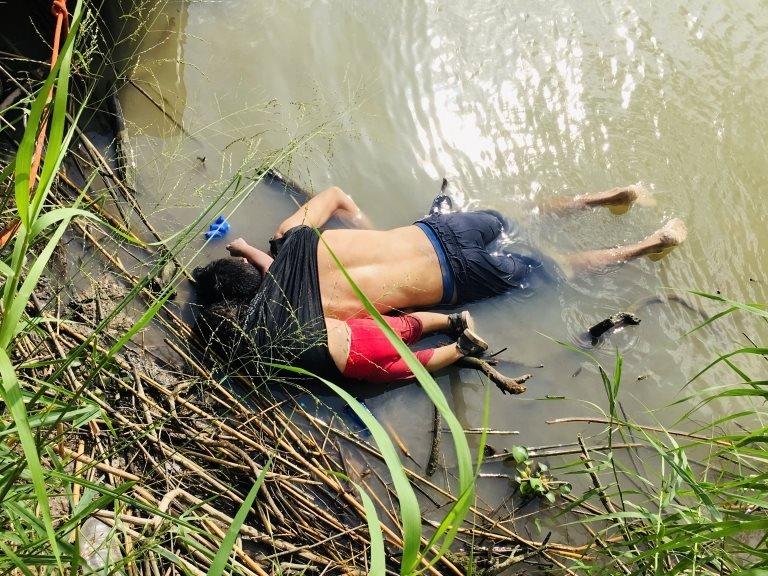 göçmen baba ve kızı