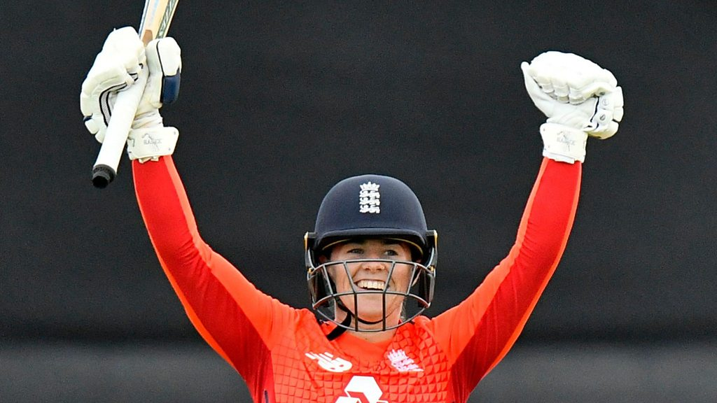 England post record T20 score against South Africa - best shots