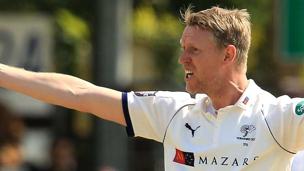 Steven Patterson replaces Gary Ballance as Yorkshire captain