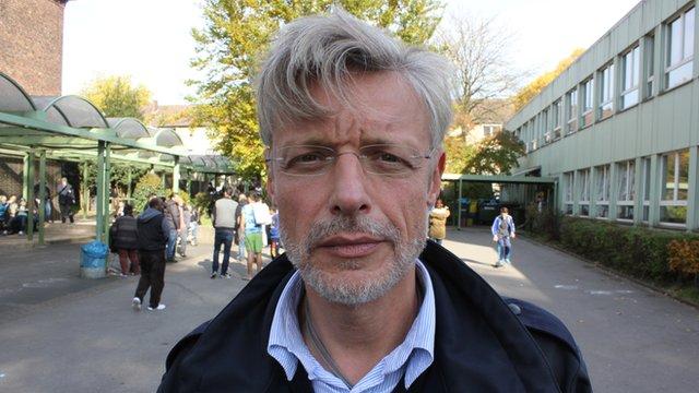 Joerg Fischer from the German Red Cross