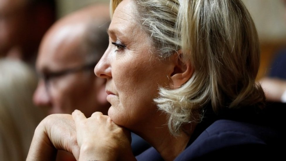 National Rally leader Marine Le Pen