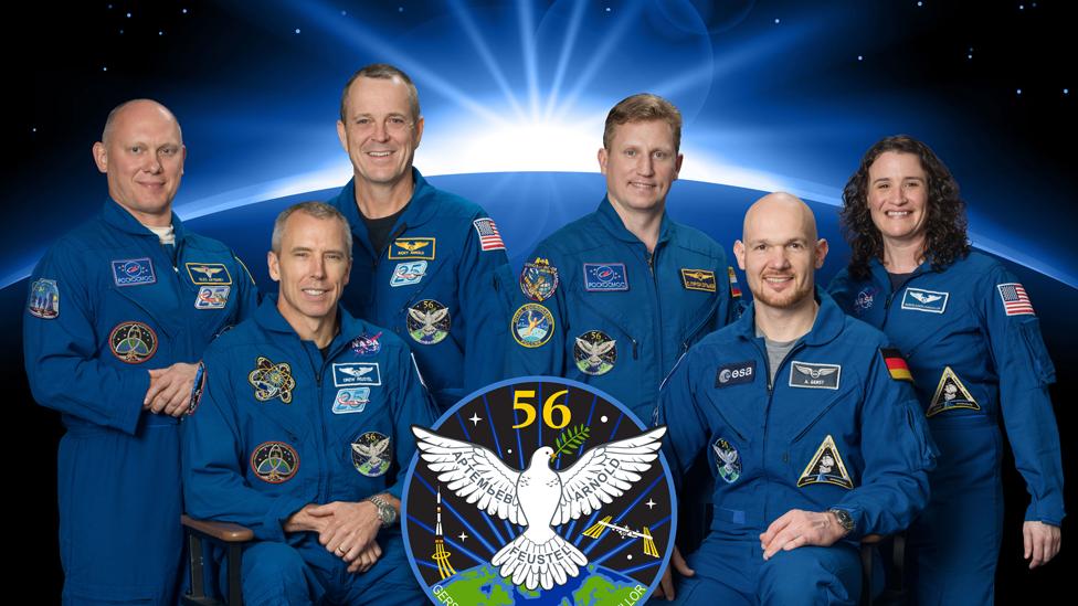 Tripulación de la Estación Espacial Internacional