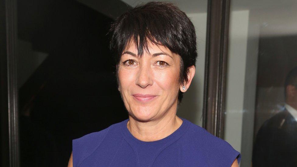 Ghislaine Maxwell, en 2016 en Nueva York.