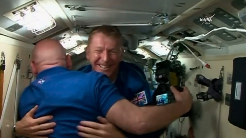 Boarding the International Space Station