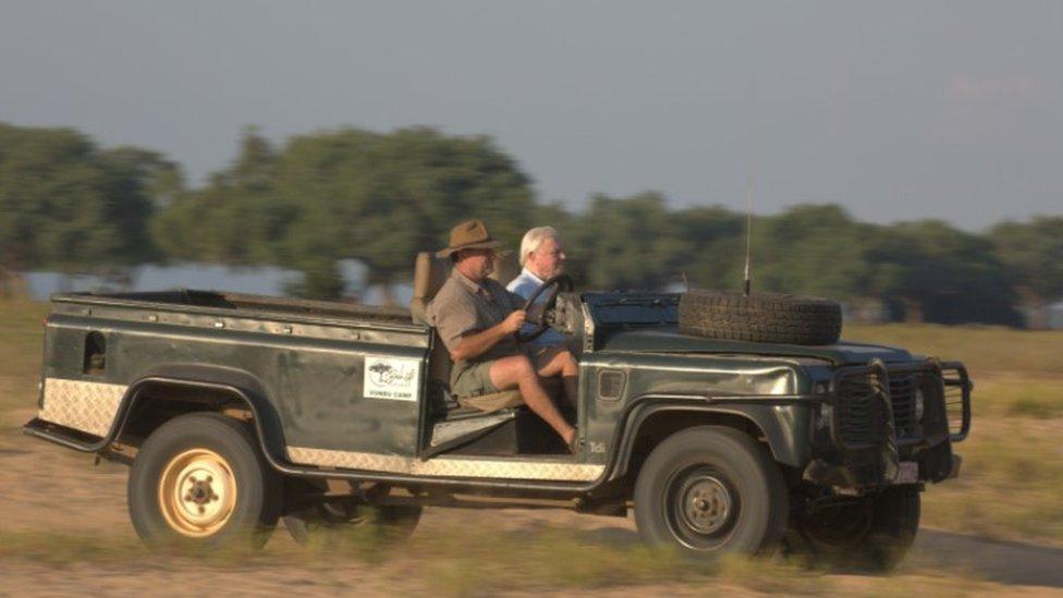 Nick Murray dan Sir David Attenborough