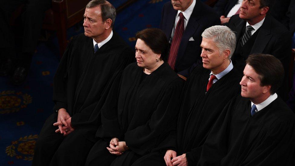 Magistrados de la corte suprema