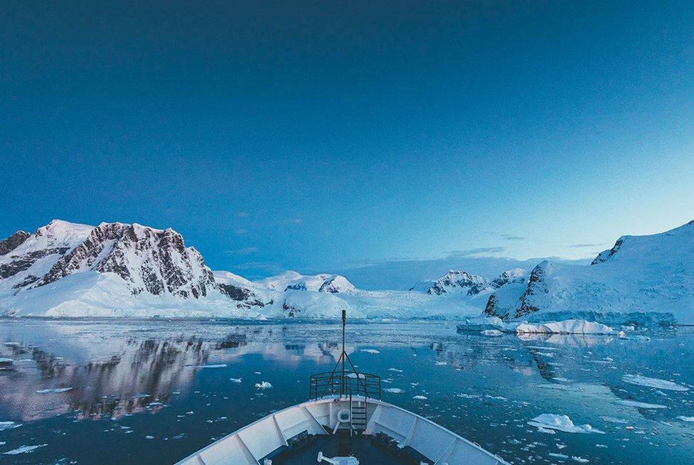 El cielo de la Antártida