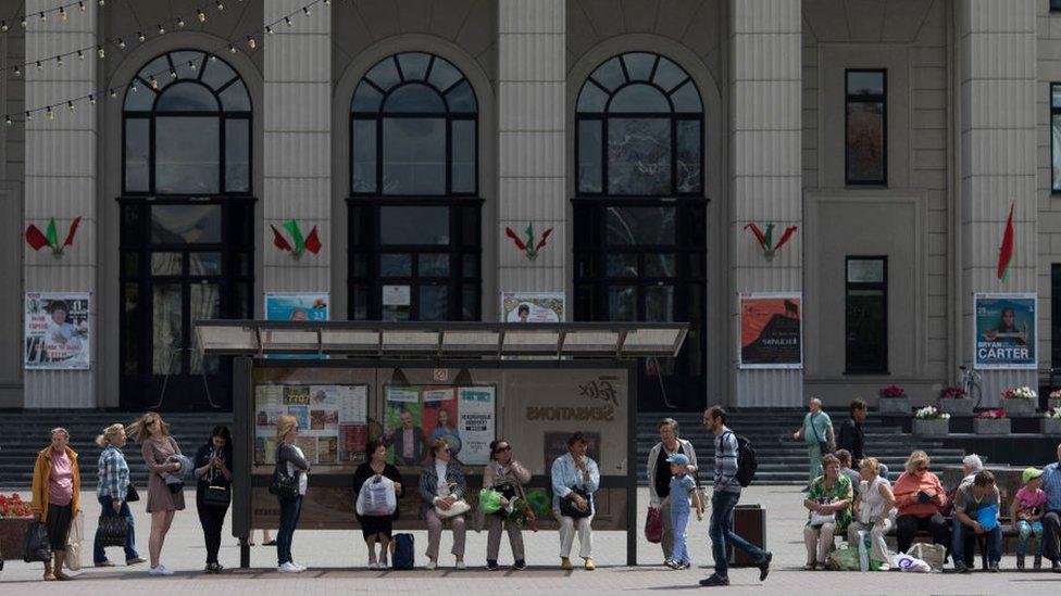 Avenija nezavisnosti u Minsku