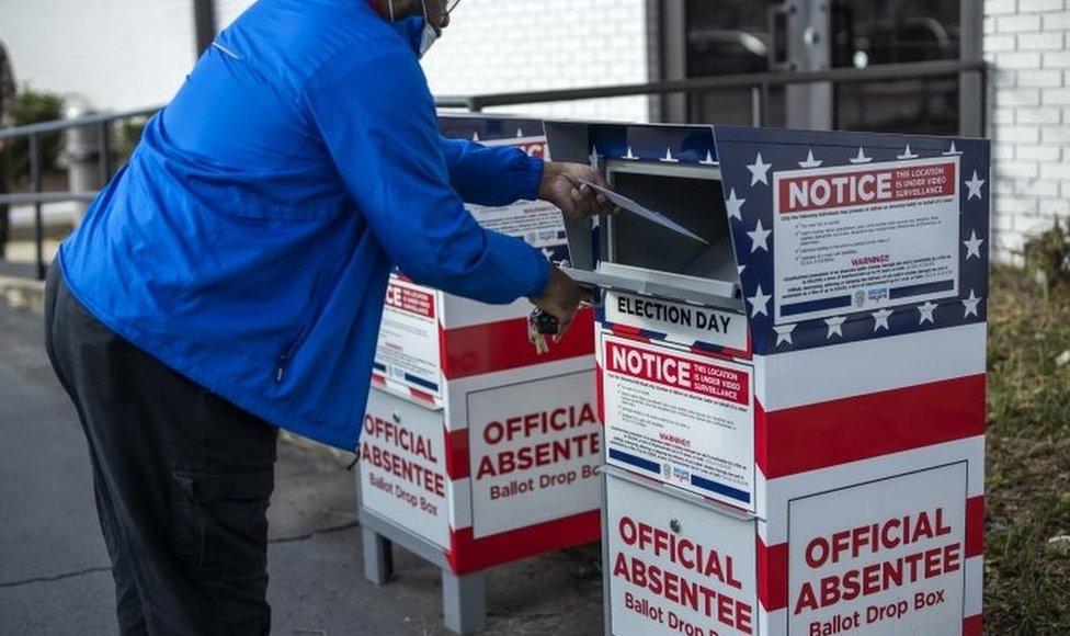 Buzón de voto en ausencia
