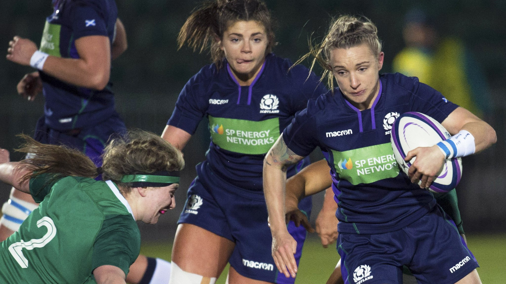 Women's Six Nations: Scotland remain positive as France loom - Shade Munro
